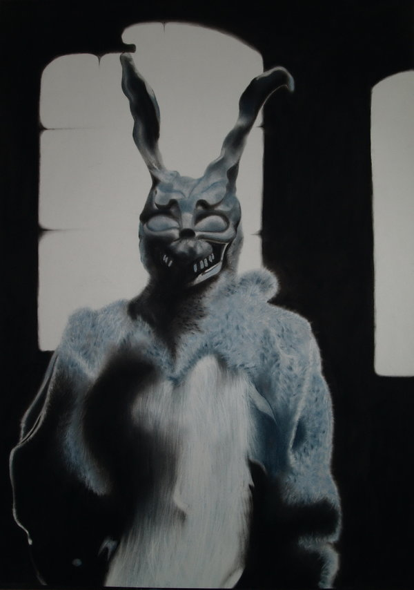 mythological connection to donnie darko Donnie darko trailer after narrowly escaping a bizarre accident, a troubled teenager is plagued by visions of a large bunny rabbit that manipulates him to commit a series of crimes.